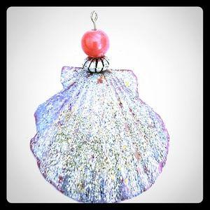 Seashell Angel Charm